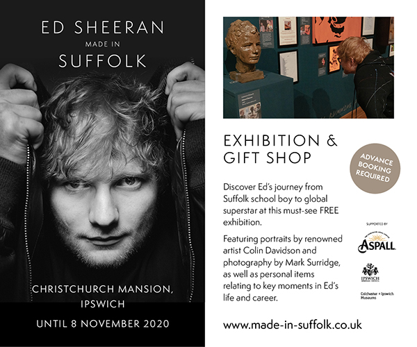 Ed Sheeran Made in Suffolk | Sept 2020 – ST-639 | MPU – all pages